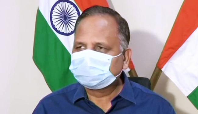 दिल्ली में लगातार बढ़ रहे कोरोना के मरीज, भर गये कई बड़े अस्पतालों के वेंटिलेटर और आईसीयू, स्वास्थ्य मंत्री सत्येंद्र जैन बोले...