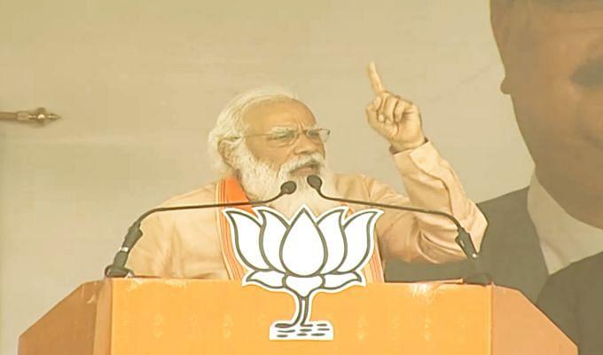 Bengal Assembly Election 2021 में कंधार के बाद अब पुलवामा और बाटला हाउस एनकाउंटर की एंट्री, PM Modi ने पुरुलिया की रैली में ममता को घेरा