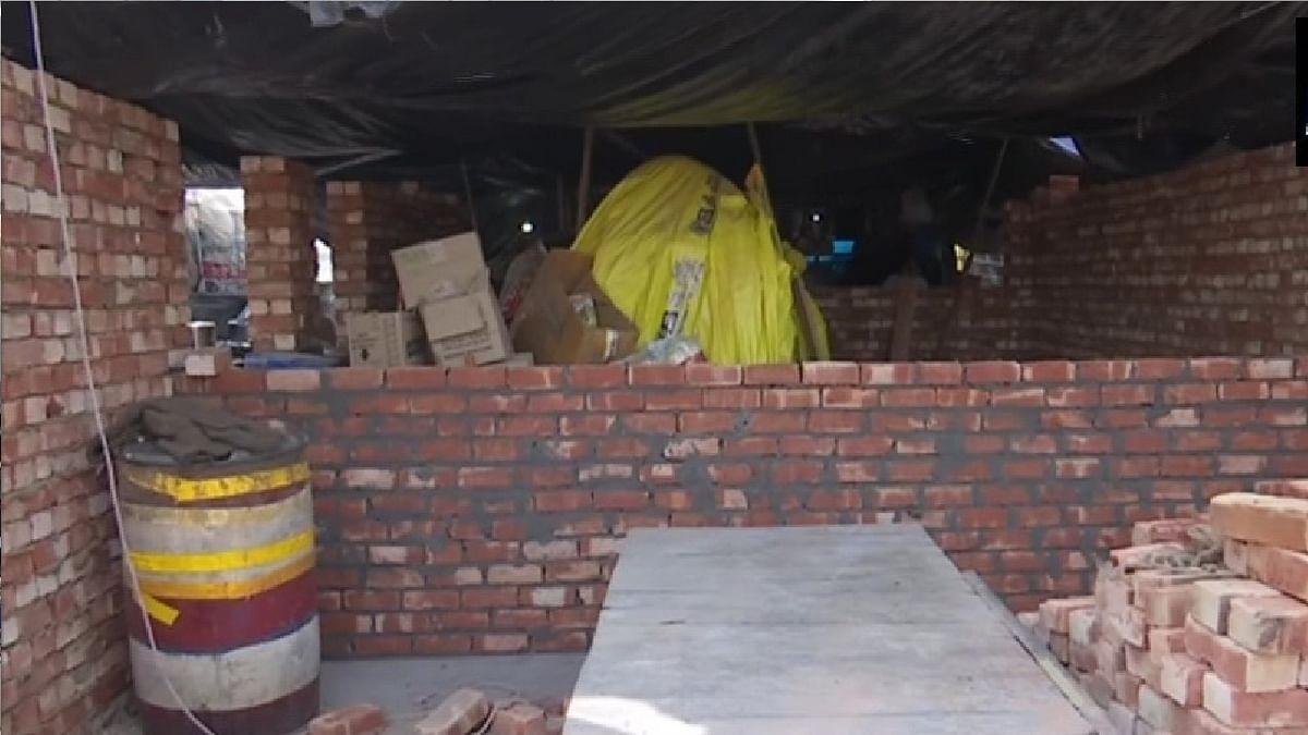 Kisan Andolan Update : सिंघू बॉर्डर पर स्थायी कब्जे की तैयारी में किसान ? बना रहे पक्के मकान, आखिर क्या है प्लान
