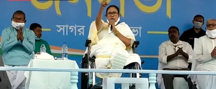 Bengal Chunav 2021: ओपिनियन पोल अमित शाह की दिमागी उपज, बोली ममता दीदी- 2 मई को जनता देगी करारा जवाब