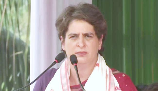 UP Chunav 2022 : प्रियंका गांधी होंगी कांग्रेस की ओर से यूपी में सीएम का चेहरा, किया जा रहा यह दावा