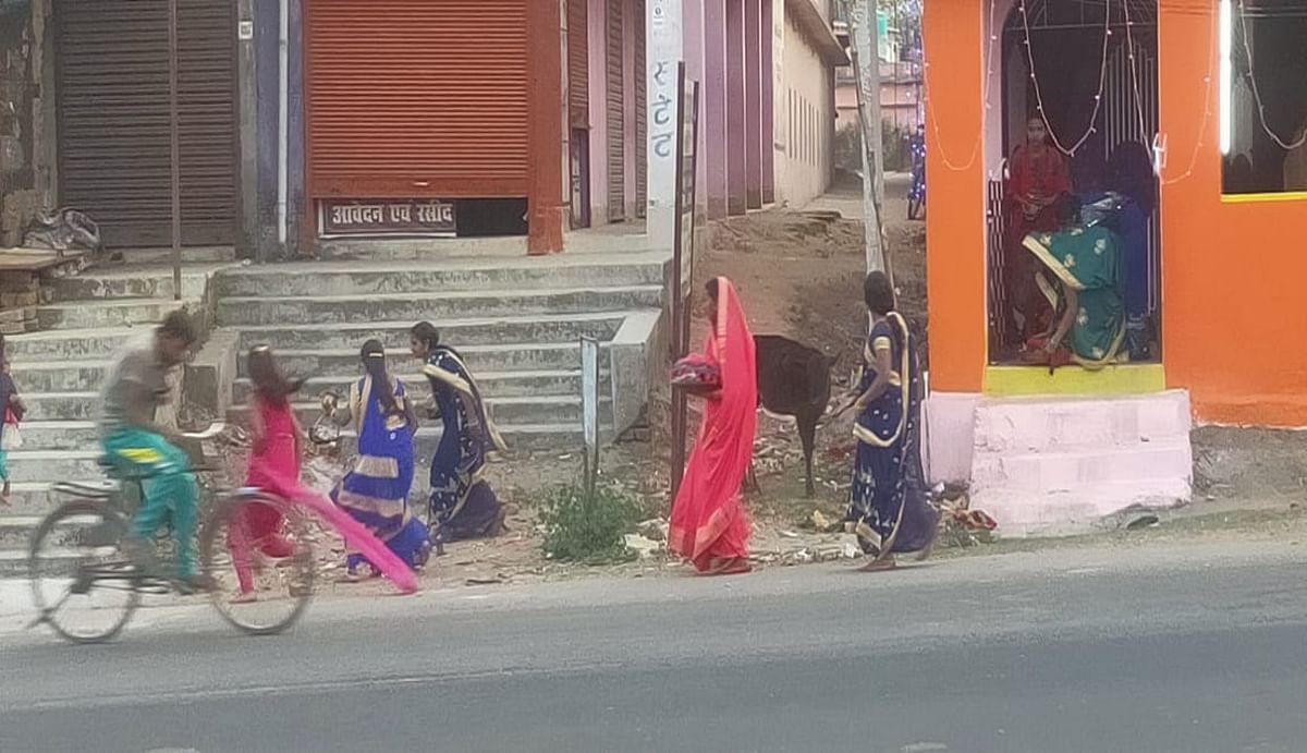 मधुमक्खी के हमले से हजारीबाग के दारू में शिव मंदिर के पास मची अफरा-तफरी, बच्चे समेत कई महिला हुई घायल