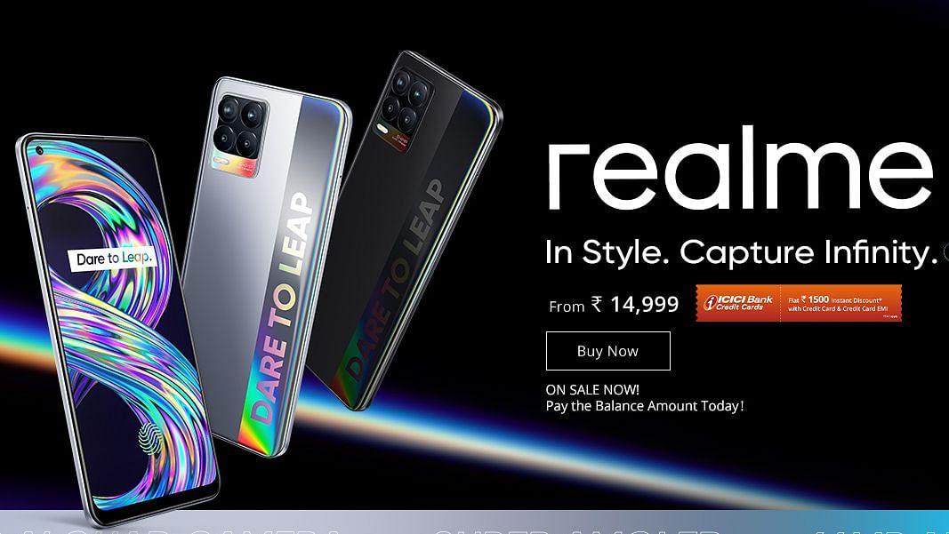 8GB रैम और 108MP कैमरा के साथ 14,999 में आयी Realme 8 सीरीज, जानिए  कीमत और खूबियां
