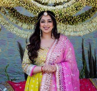 nidhi dutta wedding