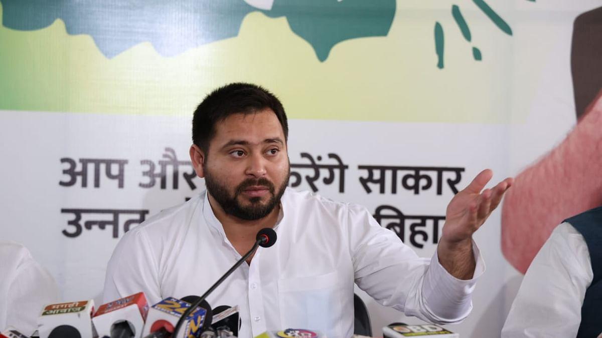 Tejashwi Yadav का दावा- बिहार में 64% मंत्री दागी, 5 साल नहीं चलेगी NDA की सरकार,  शराबबंदी पर भी सियासी स्यापा