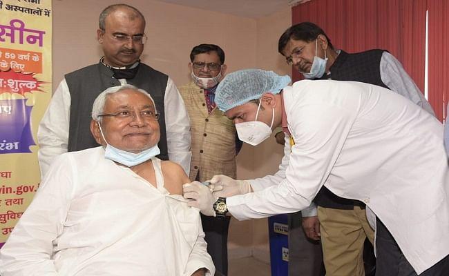 Corona vaccine: बिहार के सीएम ने अपने जन्मदिन पर लगवाया कोरोना का टीका, वैक्सिन लेने वाले पहला मुख्यमंत्री बने नीतीश कुमार