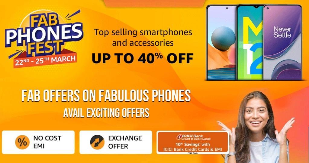 Samsung, Redmi, Oppo स्मार्टफोन्स पर यहां मिल रही शानदार छूट, Amazon Fab Phone Fest में ऐसे पाएं Best Deal