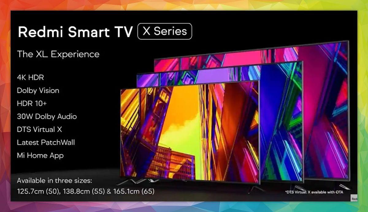 Redmi के 3 सस्ते Smart TV भारत में पेश, 65 इंच तक साइज, कीमत 32,999 रुपये...