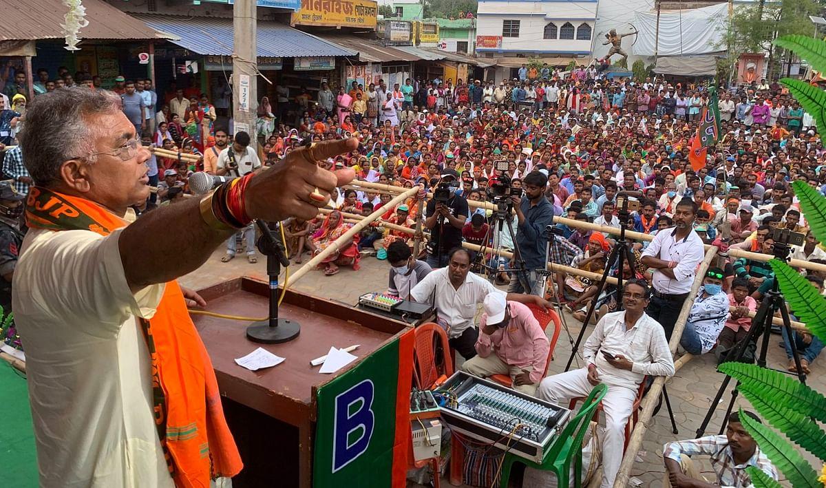 Bengal Election: दिलीप घोष की ममता को 'बरमूडा' पहनने की सलाह, तो... महुआ मोइत्रा ने BJP को कहा 'बंदर'