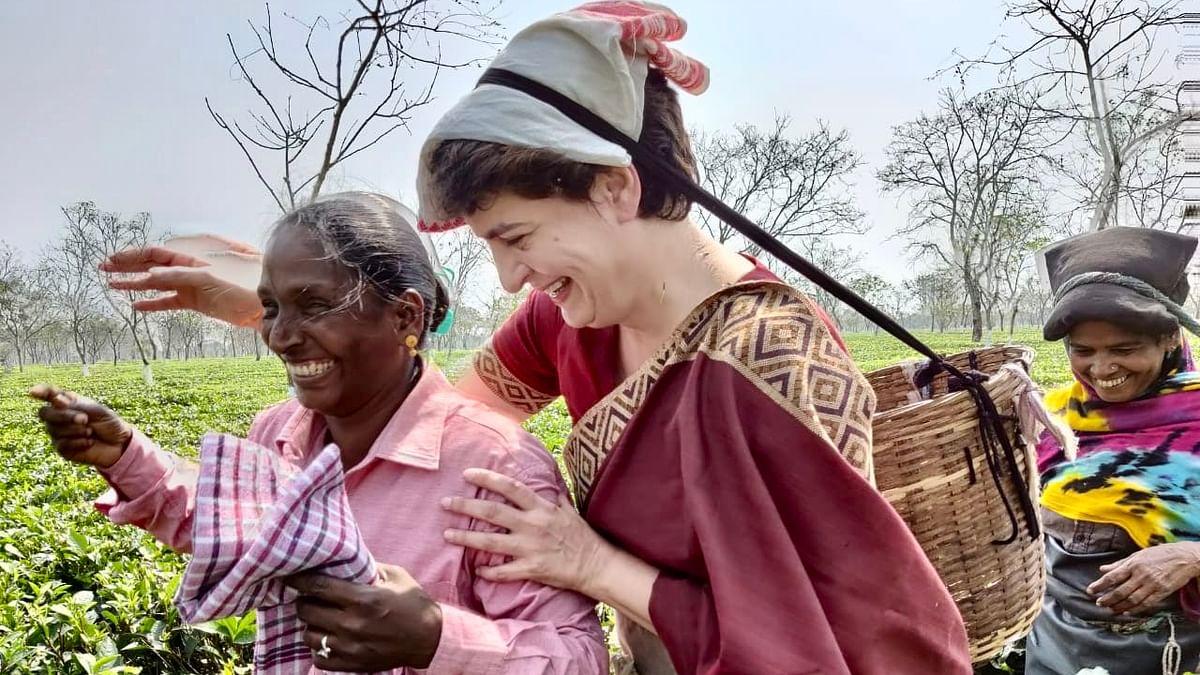 Assam Election : कांग्रेस को कितनी रास आयेगी चाय बागान की राजनीति