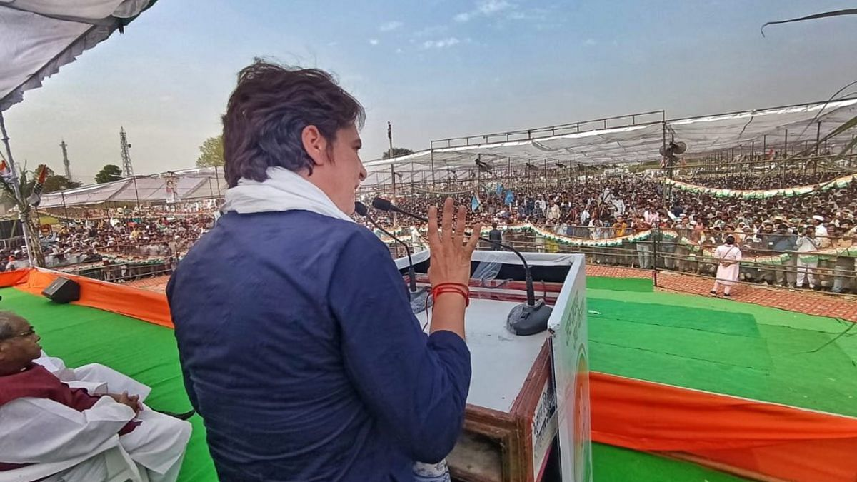 Kisan Mahapanchayat: किसानों के समर्थन में बोली प्रियंका वाड्रा, जब तक दम है लड़ूंगी, 100 दिन हो या 100 साल