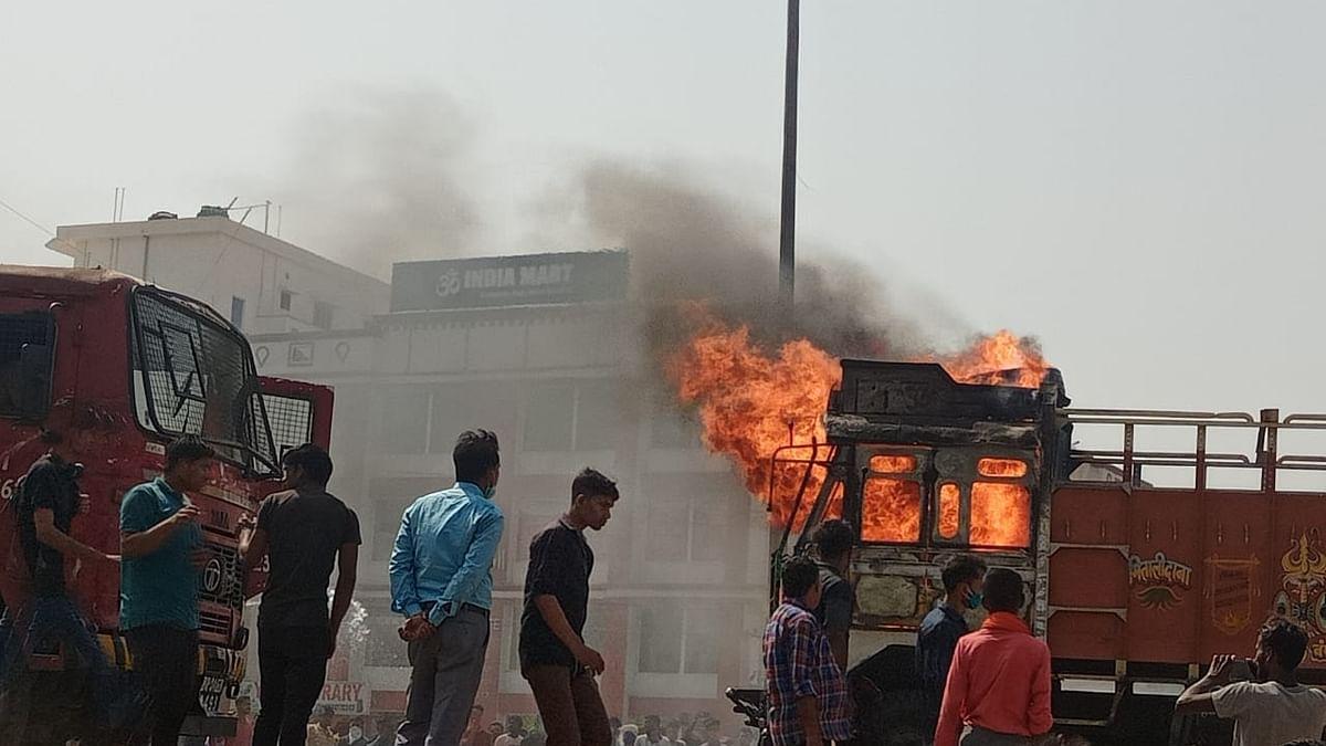 Bihar Road Accident: पटना में रफ्तार का कहर, NH-30 पर ट्रक ने बाइक सवार दम्पत्ति को कुचला, भारी बवाल से लगा लंबा जाम