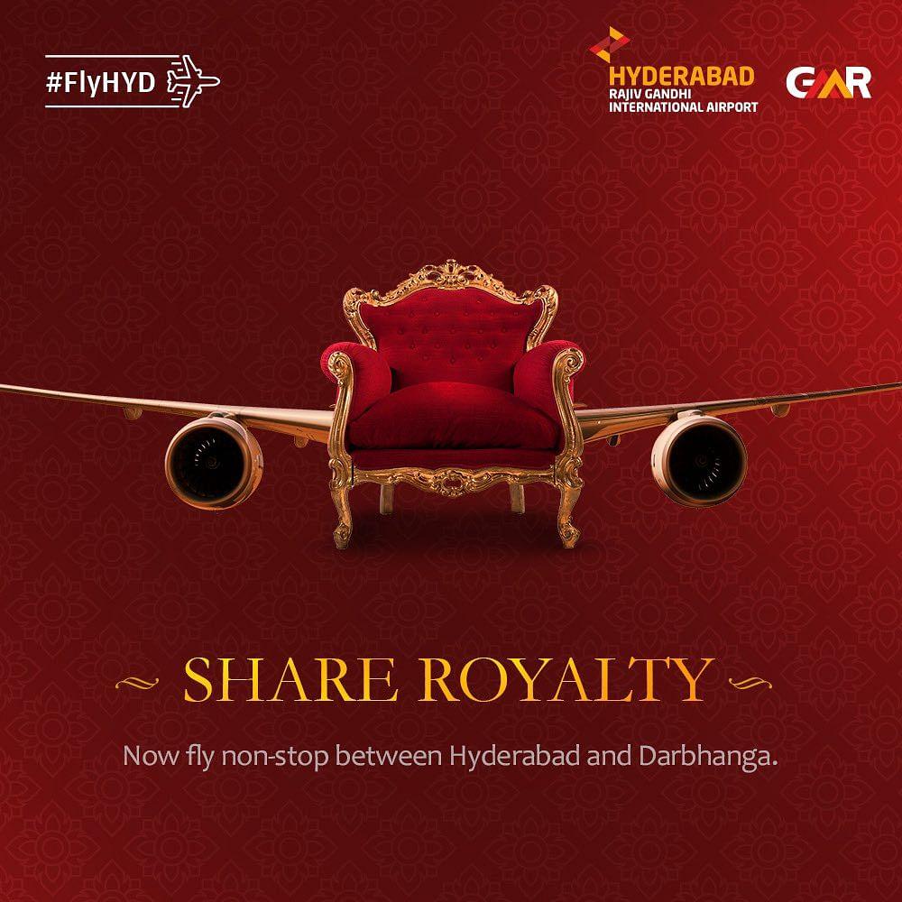 कोलकाता और हैदराबाद के लिए दरभंगा से हवाई सेवा शुरू, अब दिन में छह शहरों के लिए सात उड़ाने