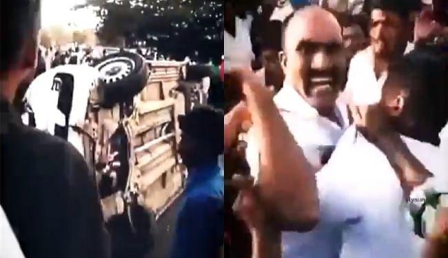 Viral Video : कर्नाटक के मैसुरु में इंजीनियर की मौत के बाद ट्रैफिक पुलिस पर फूटा लोगों का गुस्सा, कई पुलिसकर्मी घायल
