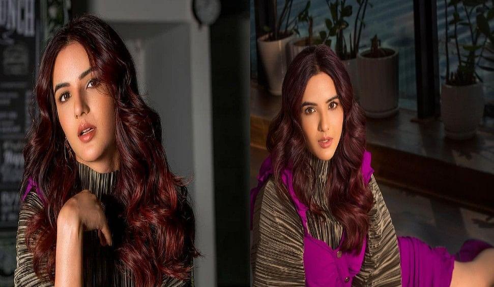 Bigg Boss कंटेस्टेंट Jasmin Bhasin ने कुछ दिखाया अपना जलवा, पर्पल आउटफिट में एक्ट्रेस को देखकर फैंस बोले Aly की लैला . . .