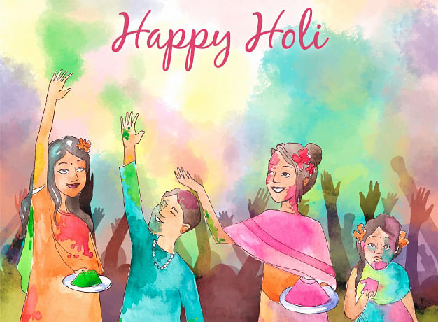 Happy Holi 2021 Wishes, Images, Quotes, Holi Ki Hardik Shubhkamnaye, Songs, Video 14