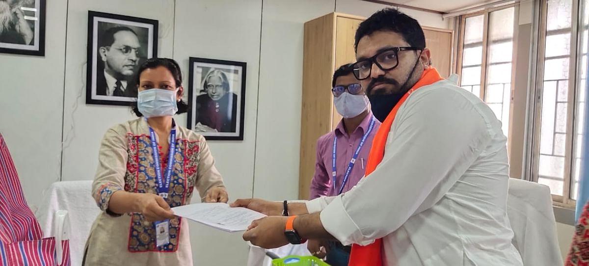 Bengal Chunav 2021: नामांकन दाखिल करने पहुंचे BJP कैंडिडेट बाबुल सुप्रियो का TMC समर्थकों ने किया विरोध, जमकर की नारेबाजी
