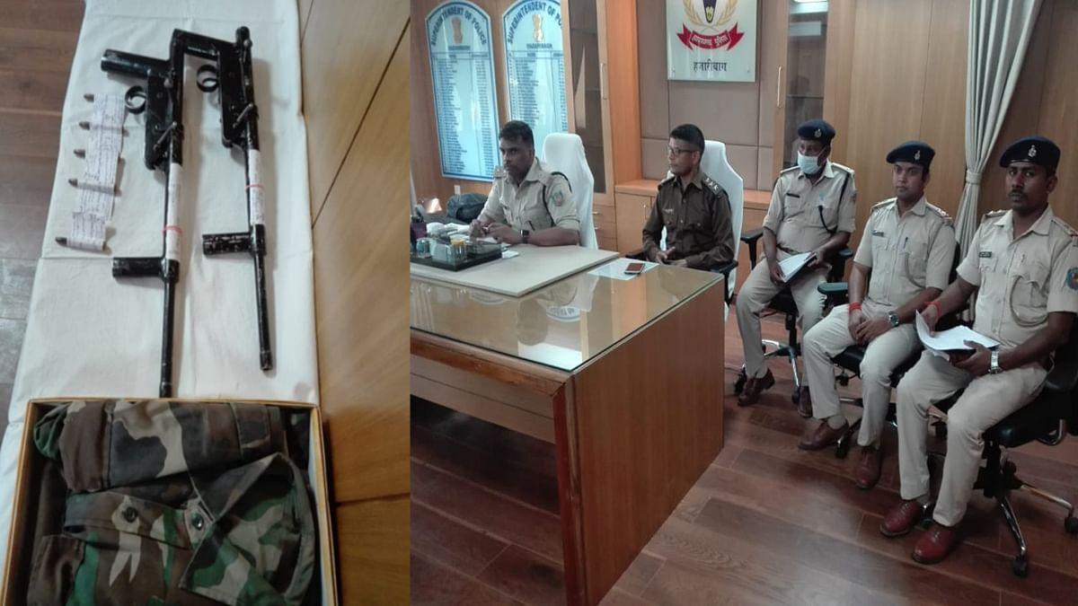 Jharkhand Crime News : किसी बड़ी घटना को अंजाम देने से पहले ही पुलिस की गिरफ्त में आया नक्सली, हथियार सहित हुआ गिरफ्तार