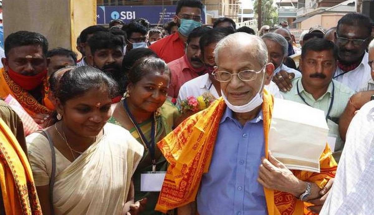 मेट्रोमैन श्रीधरन ने की धुआंधार प्रचार अभियान की शुरुआत, केरल में एनडीए के नेतृत्व में सरकार बनाने का किया दावा