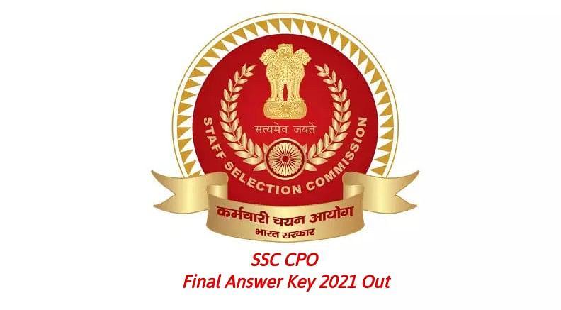 SSC CPO Final Answer Key 2021 Out: कर्मचारी चयन आयोग ने जारी किया आंसर की, ऐसे चेक कर सकते हैं अपने उत्तर