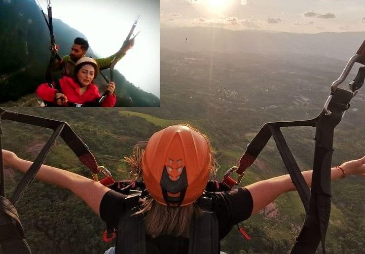 Land Karwa Do 2: पैराग्लाइडिंग करती लड़की को देखकर आएगी 'लैंड करवा दे' वाले लड़के की याद, सोशल मीडिया पर यूजर बोले  50 रुपये काट दीदी के . . ., Video Viral