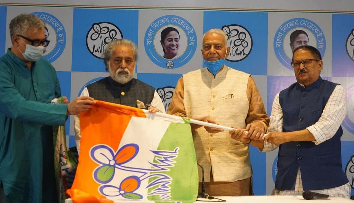 Bengal Election 2021: डूबती नाव पर बोझ साबित होंगे यशवंत सिन्हा, TMC में शामिल हुए पूर्व केंद्रीय मंत्री तो बीजेपी ने कसा तंज