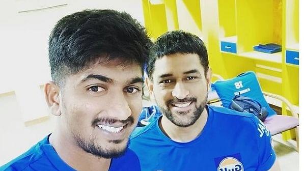 IPL 2021 : एमएस धौनी को 'कडप्पा' ने किया बोल्ड, CSK के 20 लाख के खिलाड़ी के बारे में जानें ये खास बात