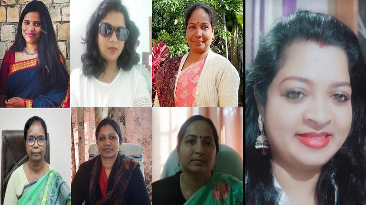 Women's Day 2021 : अधिकारी से लेकर सियासत तक में अपनी पहचान बना रहीं झारखंड के खूंटी की महिलाएं