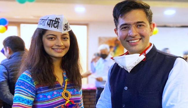 मिस इंडिया दिल्ली की विजेता मानसी सहगल ने शुरू की राजनीतिक पारी, आम आदमी पार्टी में हुईं शामिल