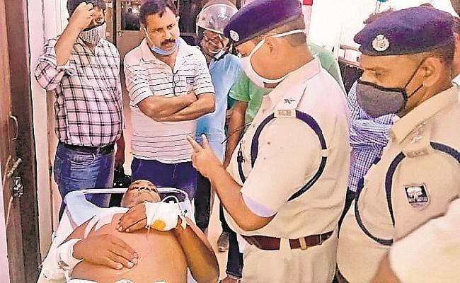 बिहार में कांग्रेस नेता के भाई पर ताबड़तोड़ फायरिंग, हालत नाजुक, CCTV कैमरे में कैद हुई पूरी वारदात