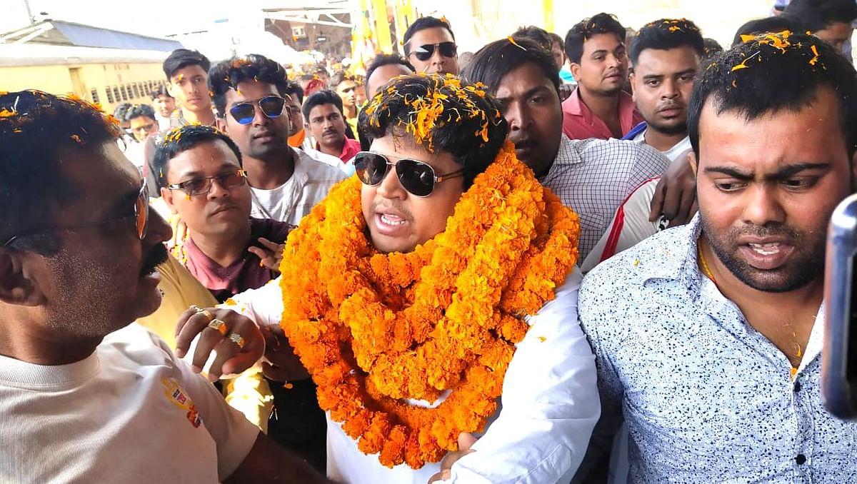 Bengal Chunav 2021: मालदा के बाहुबली नेता यासीन शेख भाजपा में शामिल, दिल्ली से लौटने पर हुआ भव्य स्वागत