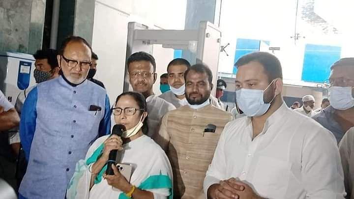 Bengal Chunav: TMC और RJD में बन गयी बात! तेजस्वी से मुलाकात के बाद ममता बोलीं-  बिहार में जल्द गिरेगी सरकार