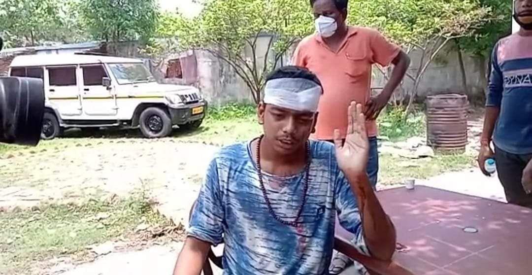 भाजपा कार्यकर्ता ने कहा कि तृणमूल वालों ने हमला किया