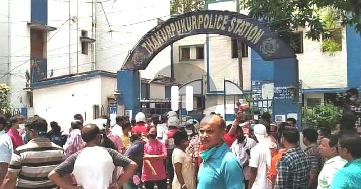 Political Violence in Bengal Chunav 2021: चुनाव से पहले बढ़ रहा तनाव, ठाकुरपुकुर में तृणमूल-भाजपा समर्थक भिड़े