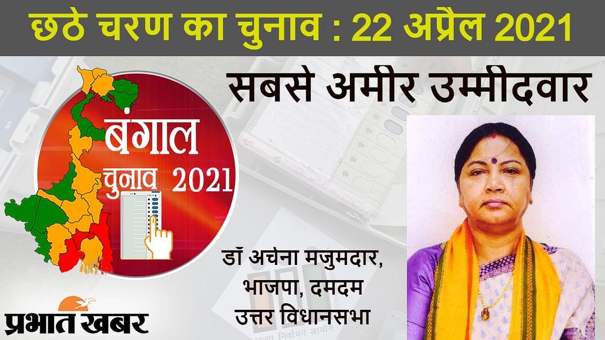 बंगाल चुनाव 2021 का छठा चरण : बीजेपी की अर्चना मजुमदार सबसे अमीर उम्मीदवार, ये हैं सबसे गरीब