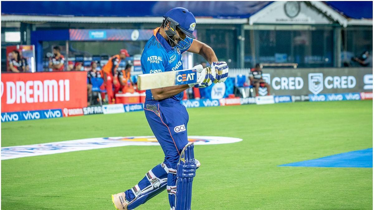 IPL 2021, MI vs RCB: मैच हारने के बाद भी रोहित ने इस खास मैसेज से जीता लोगों का दिल, फैंस से लेकर इंग्लैंड के क्रिकेटर तक हिटमैन के हुए मुरीद