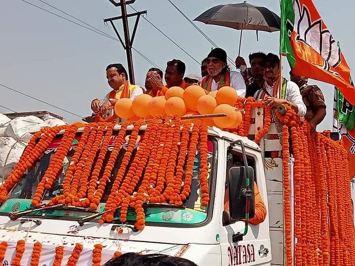 Bengal Chunav 2021: विष्णुपुर में मिथुन चक्रवर्ती का रोड शो, कहा - BJP की जीत से 'सोनार बांग्ला' बनेगा बंगाल