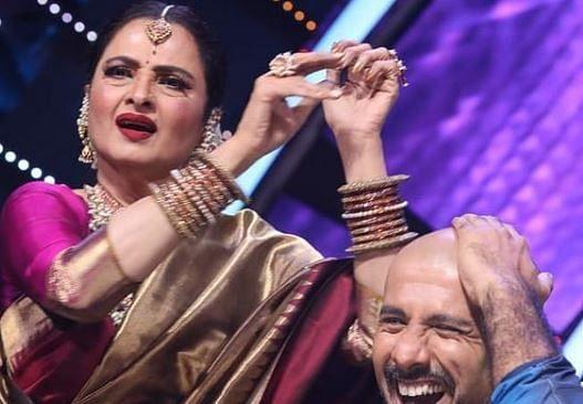 Indian Idol 12 : नेहा को शादी का तोहफा, तो स्नीकर्स में रेखा का डांस; एक्ट्रेस के आने से शो में लगे चार-चांद, PHOTOS