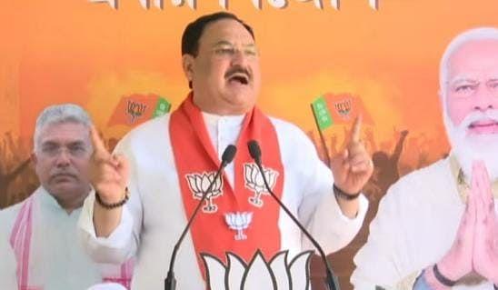 चुनाव प्रचार के अंतिम दिन जेपी नड्डा ने सीएम ममता बनर्जी पर साधा निशाना, कहा- '2 मई को दीदी का जाना तय'