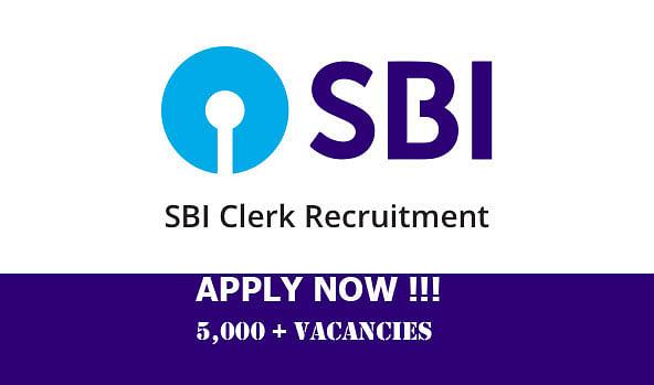 SBI Clerk Recruitment 2021: भारतीय स्टेट बैंक ने निकाली 5,000 से ज्यादा पदों के लिए नियुक्ति, जाने आवेदन प्रक्रिया  sbi.co.in
