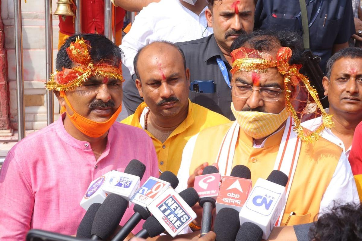 Bengal Chunav 2021: ममता बनर्जी पर केशव चंद्र मौर्य का हमला, कहा - BJP की लहर में TMC का बंगाल से जाना तय