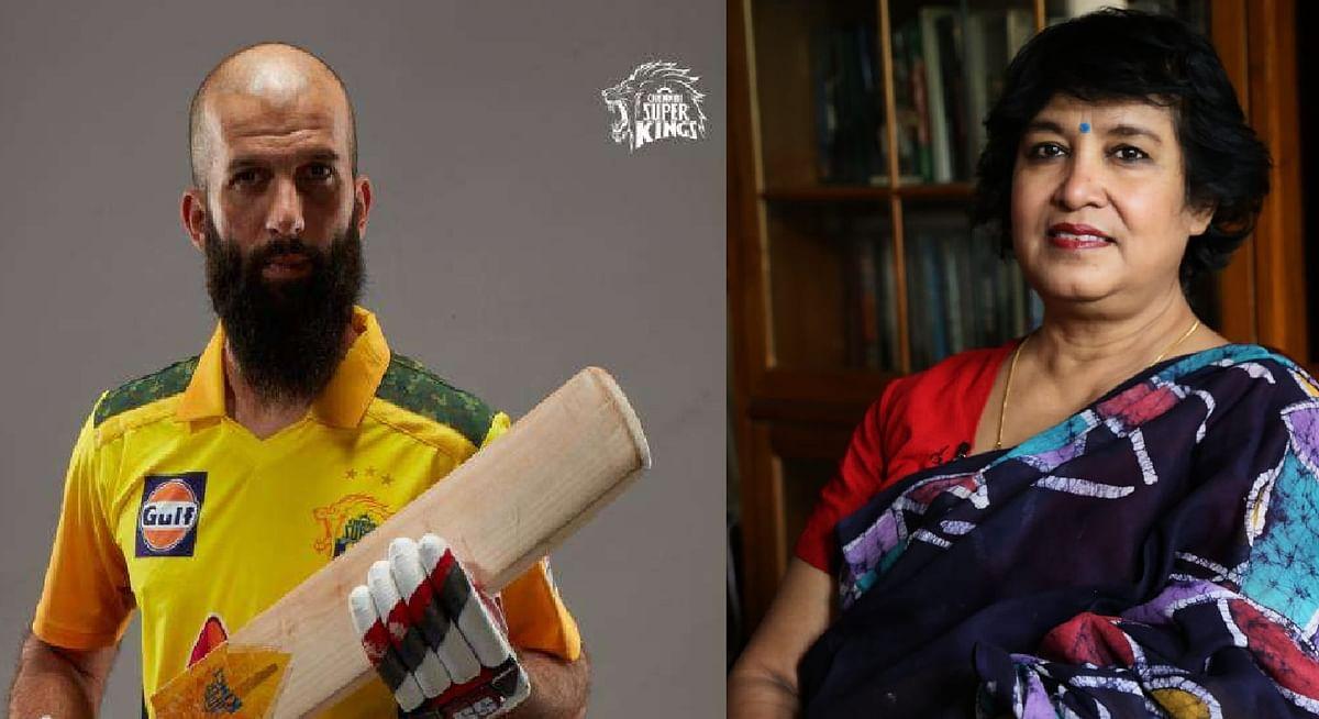 'मोईन अली क्रिकेट नहीं खेल रहे होते तो ISIS का आतंकी बन जाते', तस्लीमा नसरीन का विवादित ट्वीट