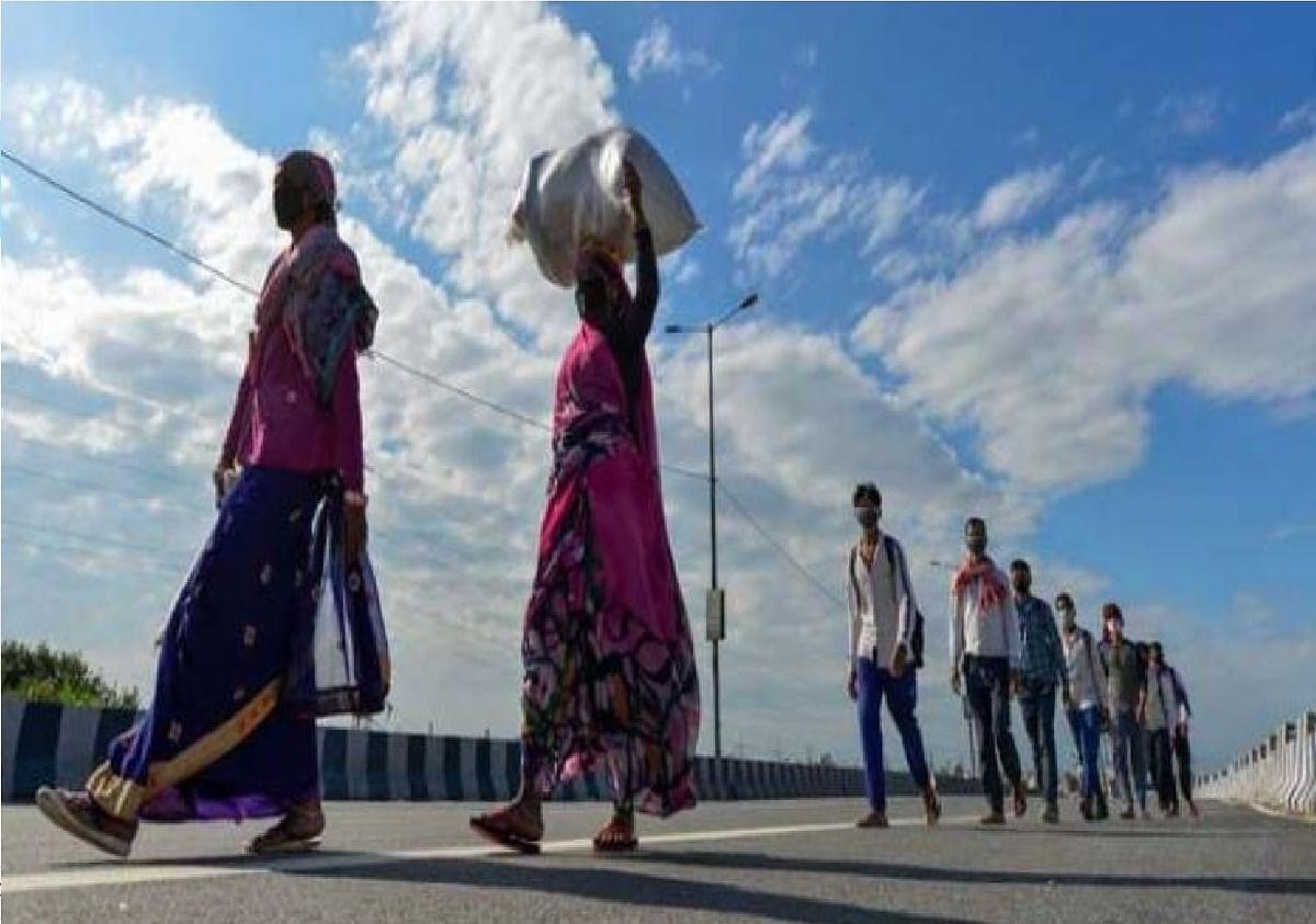 महाराष्ट्र से फिर अपने घर लौटने लगे हैं मजदूर, डरा रहा है लॉकडाउन का खतरा