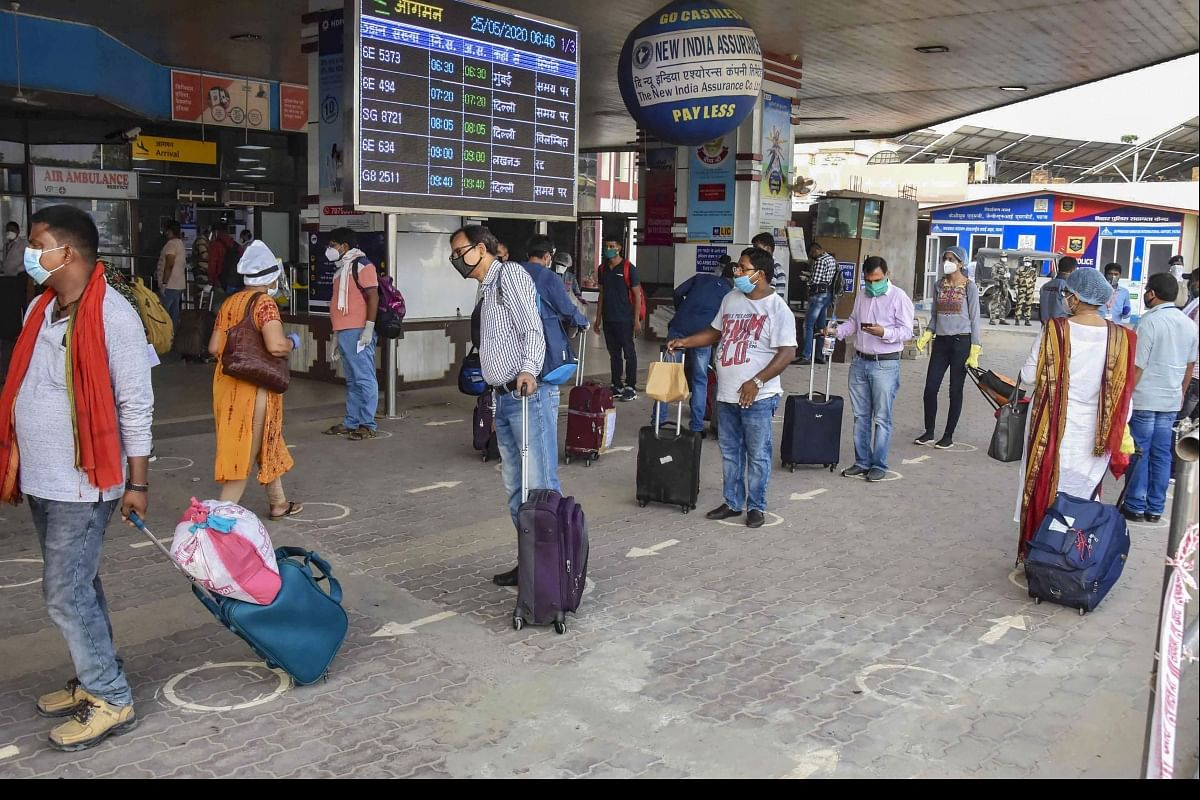 बिना RT-PCR जांच के बिहार में एंट्री बंद, महाराष्ट्र, पंजाब और केरल से आए यात्रियों को पटना एयरपोर्ट पर दिखानी होगी रिपोर्ट
