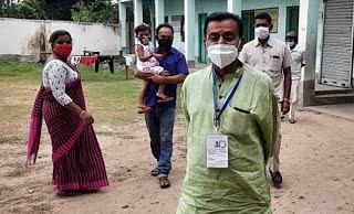 पूर्वस्थली में जय श्रीराम पर मुश्किल में मतदान अधिकारी, चुनाव आयोग ने हटाया