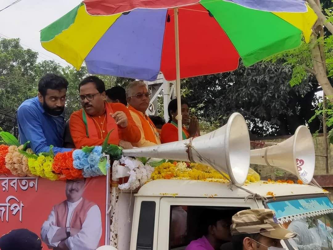 बीजेपी प्रदेश अध्यक्ष दिलीप घोष का TMC पर हमला, कहा- माटी में मिल जाएगी मां माटी मानुष वाली सरकार