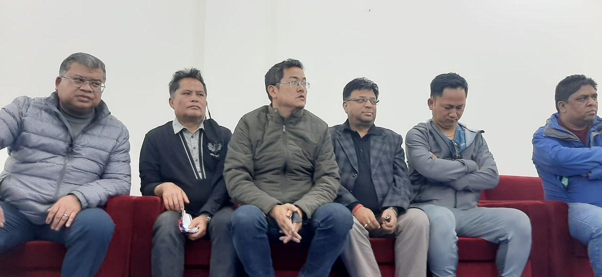पहाड़ पर शांति बनाये रखने के लिए दार्जीलिंग पुलिस और राजनैतिक पार्टियों ने की बैठक