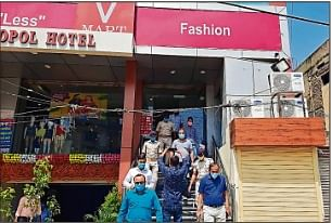 Coronavirus in Bihar : जांच के दौरान बिना मास्क के मिले मॉल के कई कर्मचारी, 48 घंटे के लिए शहर तीन मॉलों को किया गया सील