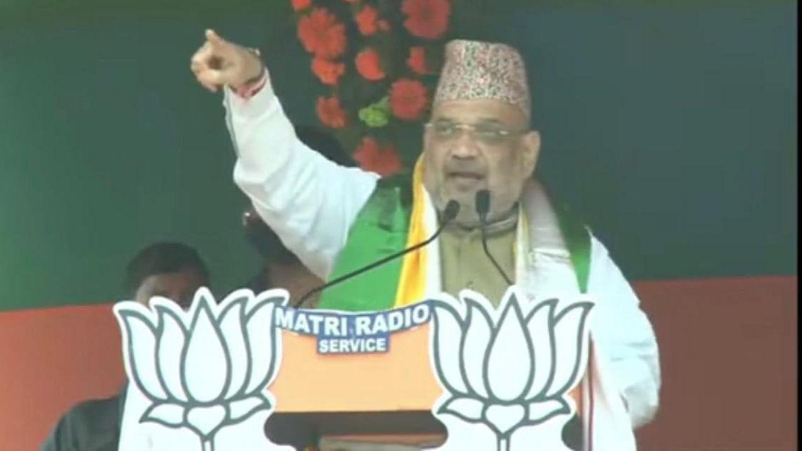 Bengal Election 2021: अमित शाह ने ममता पर बोला हमला, कहा- NRC के नाम पर गोरखा को डरा रही हैं दीदी