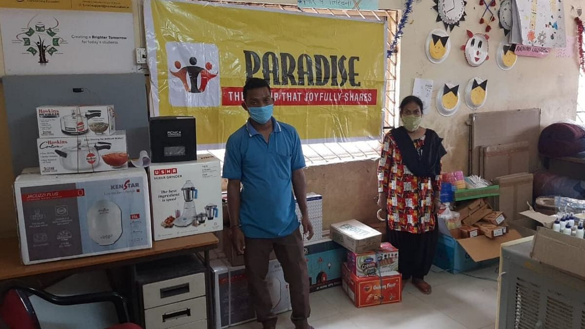 लावारिस बच्चों को बचाने वाली संस्था 'बालाश्रय' में Paradise ने किया जरूरी सामानों का वितरण